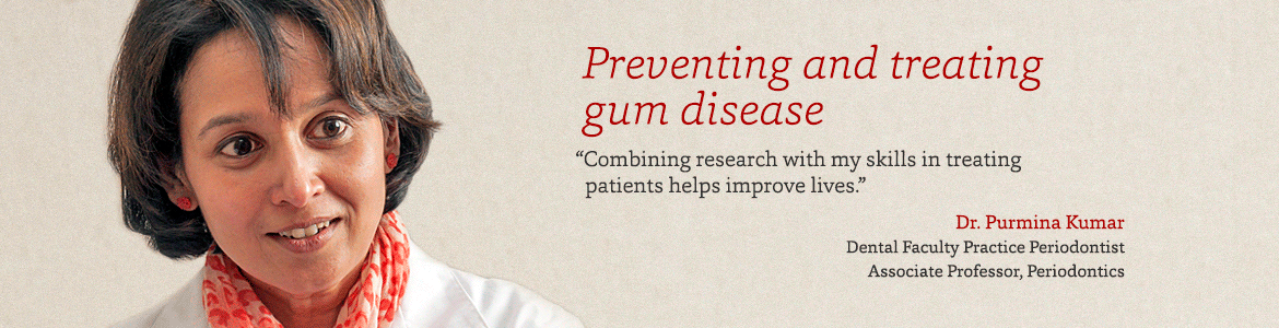 Preventing and treating gum disease